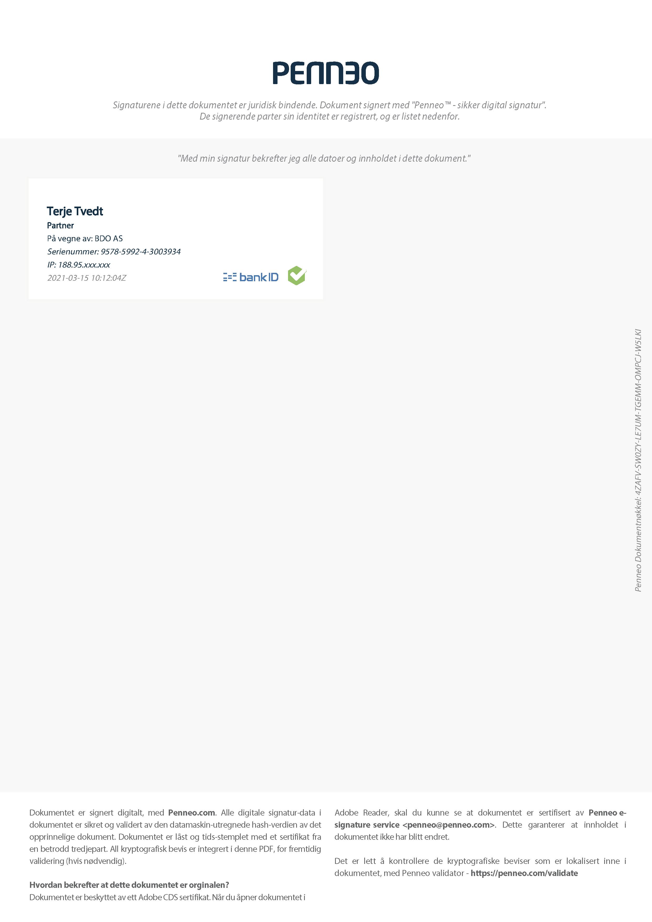 9.4 Signert revisjonsberetning, Norsk Tipping AS_Page_3
